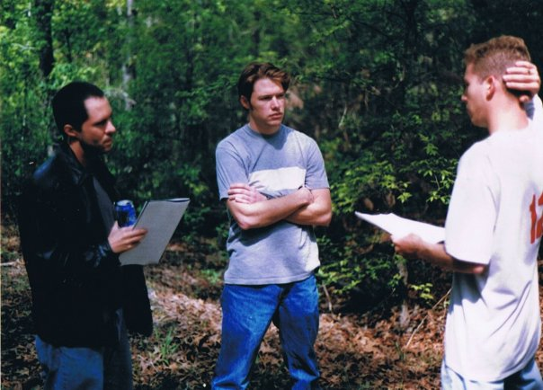 Blake Taylor Marcus_directing Trail Scene